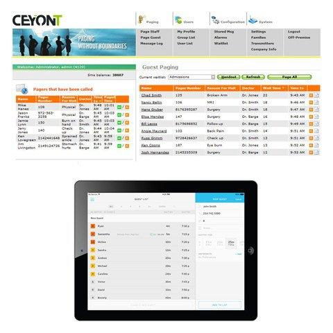 Software waarmee u uw pagersysteem kan beheren.