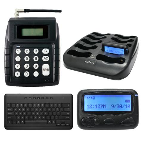 Tekstpager oproepsysteem