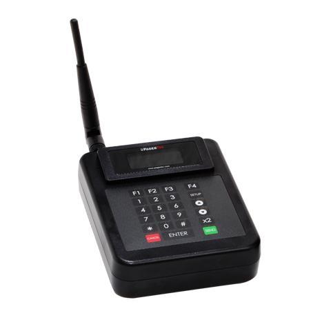 Onze Pro Transmitter voor het oproepen van Pagers en Buzzers